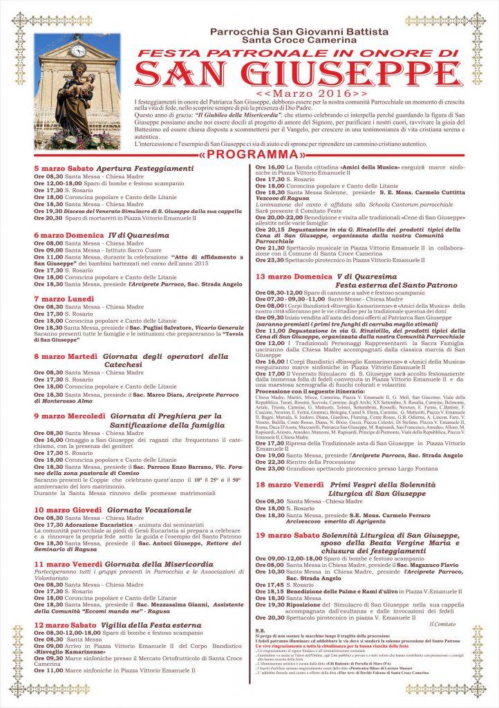 Manifesto San Giuseppe 2016 corr