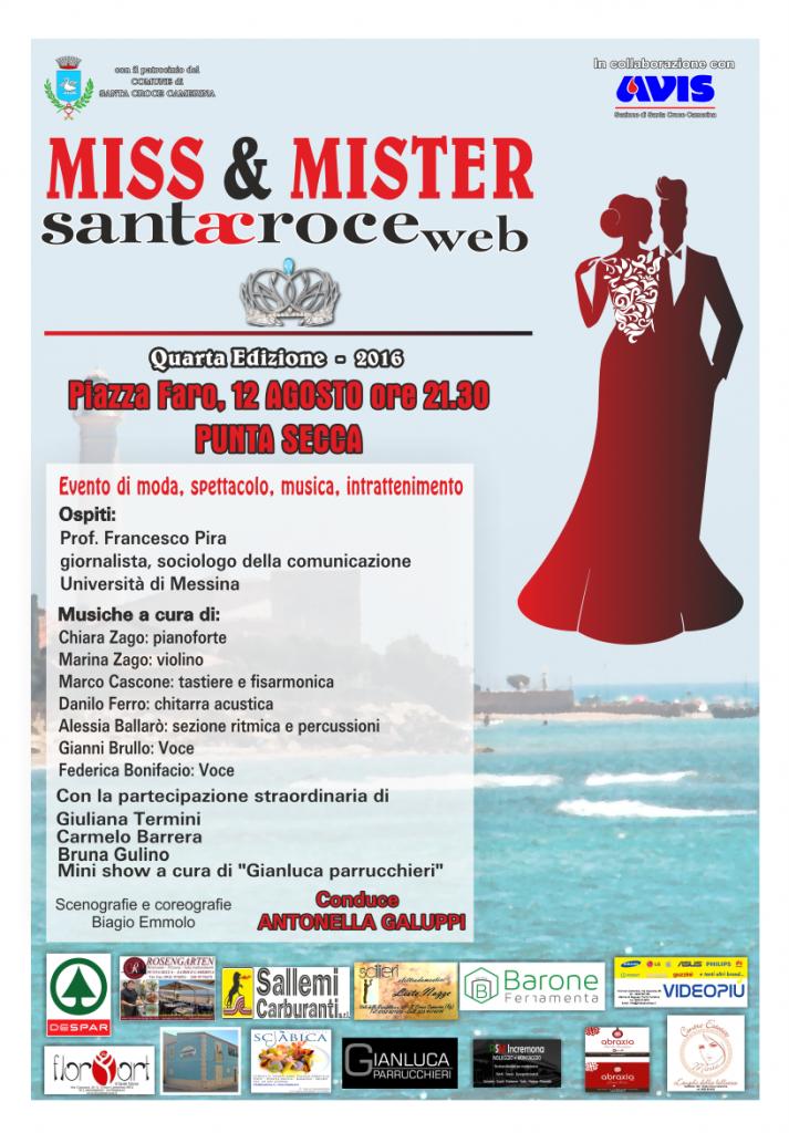 Manifesto Miss & Mister Santa Croce Web 2016