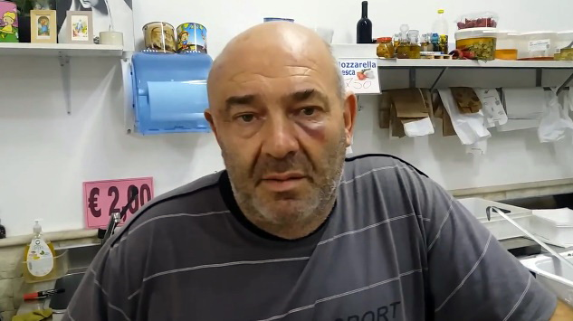 Vincenzo Corifeo - Fermo immagine video Ragusa Telegraph