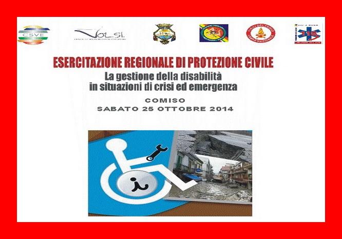 La gestione della disabilità in situazioni di emergenza: anche l'Avs all'esercitazione regionale