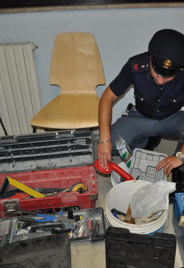 Restituito materiale di edilizia e falegnameria a una ditta di Santa Croce: denunciati due rumeni