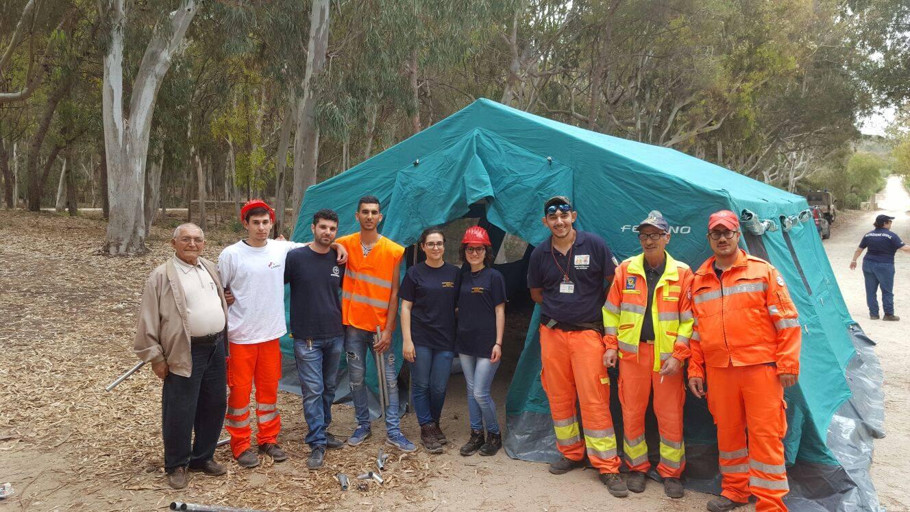 Esercitazione per Avs e Protezione Civile presso la riserva di Randello FOTO