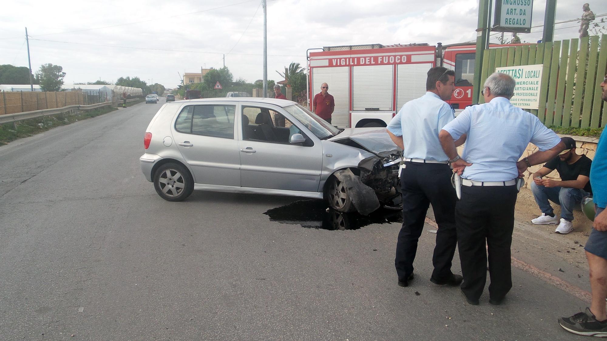 Anche le strade si fanno roventi: doppio incidente fra S.Croce e P.Secca