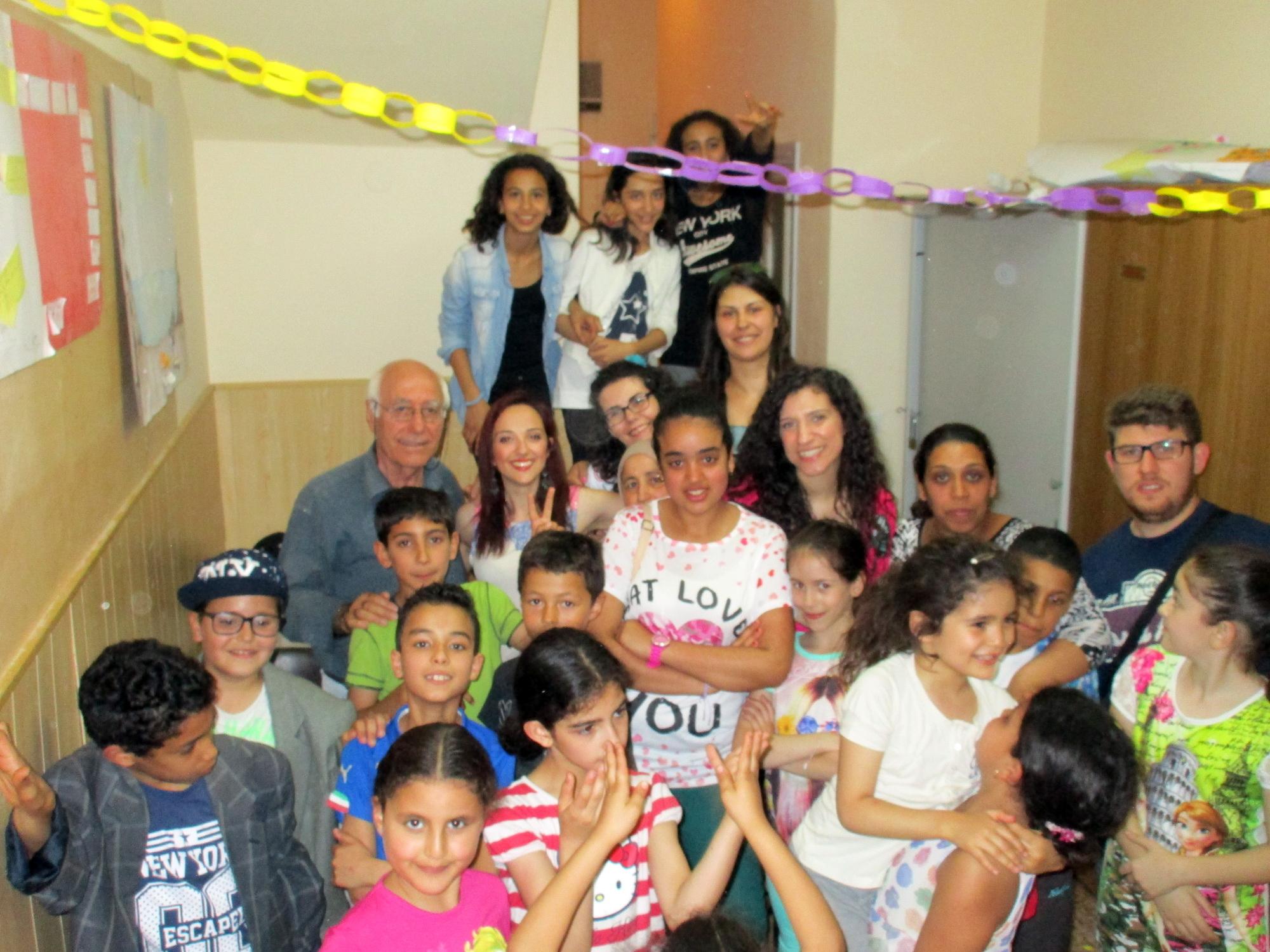 La Caritas festeggia la fine dei corsi di doposcuola e alfabetizzazione