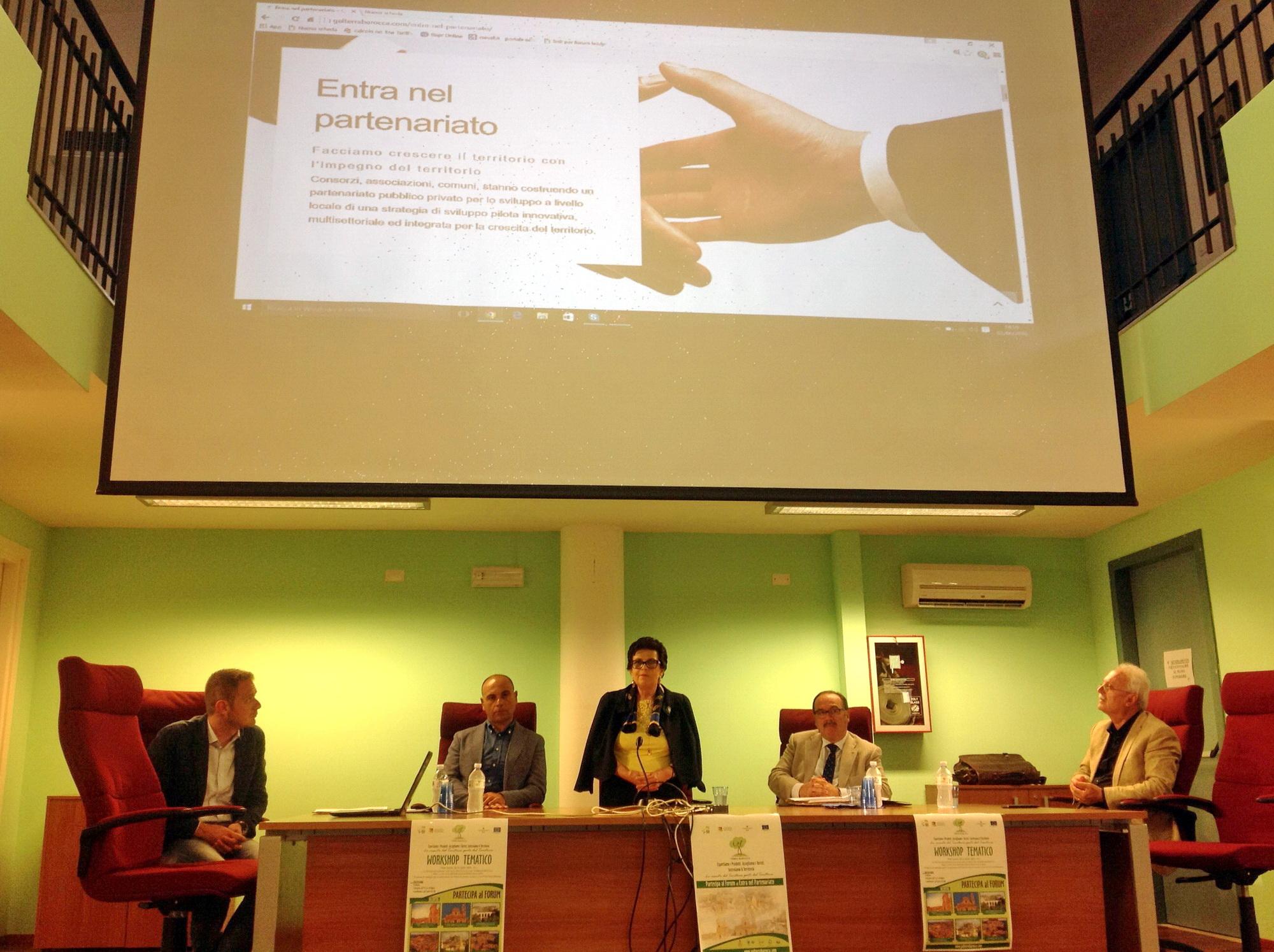 Gal Terra Barocca in fase di lancio: si è tenuto un workshop in biblioteca