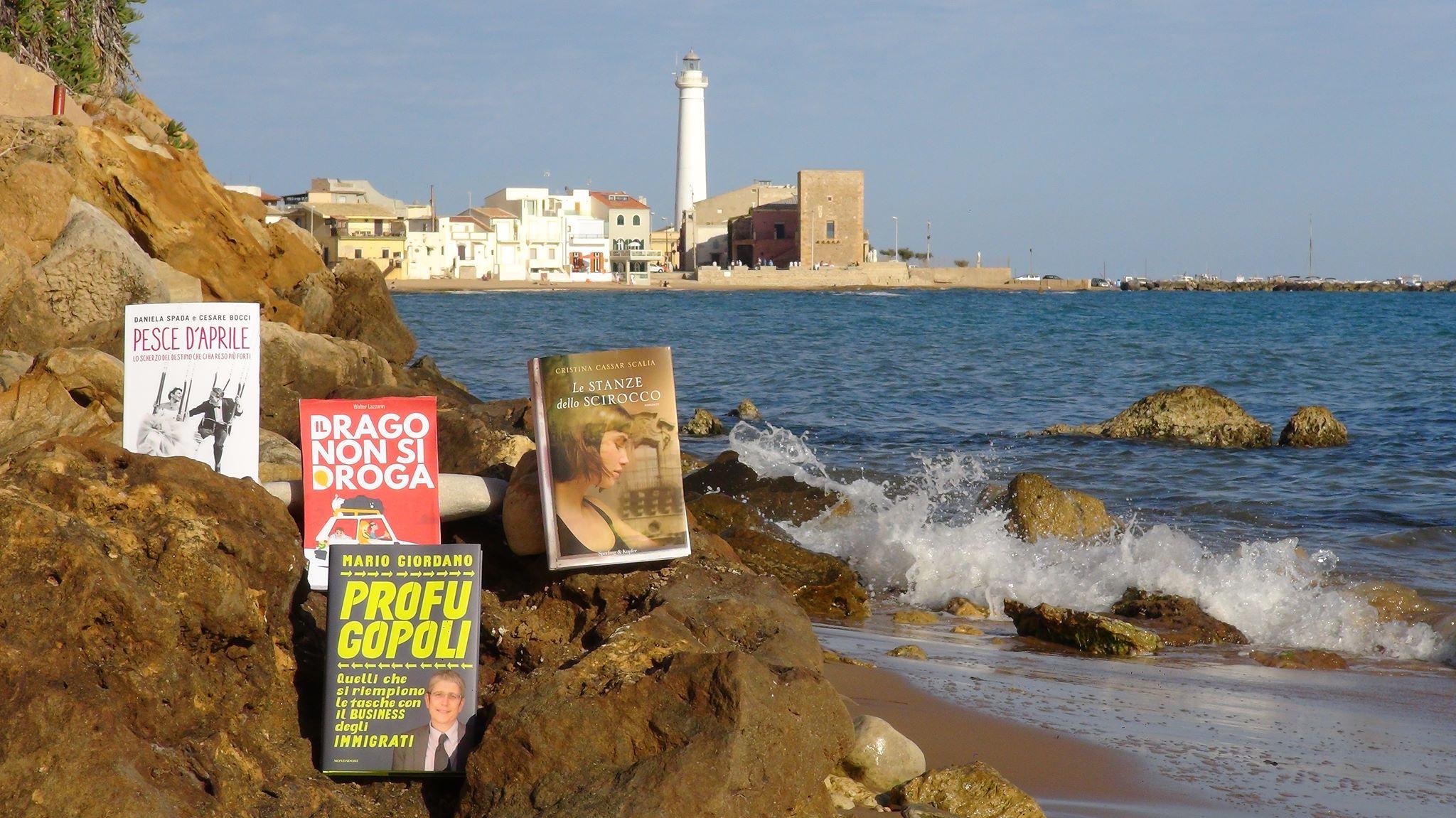 Libri d'aMare a Punta Secca dal 15 al 17 luglio: ci sono Bocci e Giordano