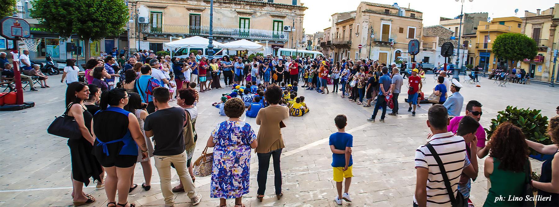 Basket, grande festa in piazza per la conclusione del Memorial Mandarà