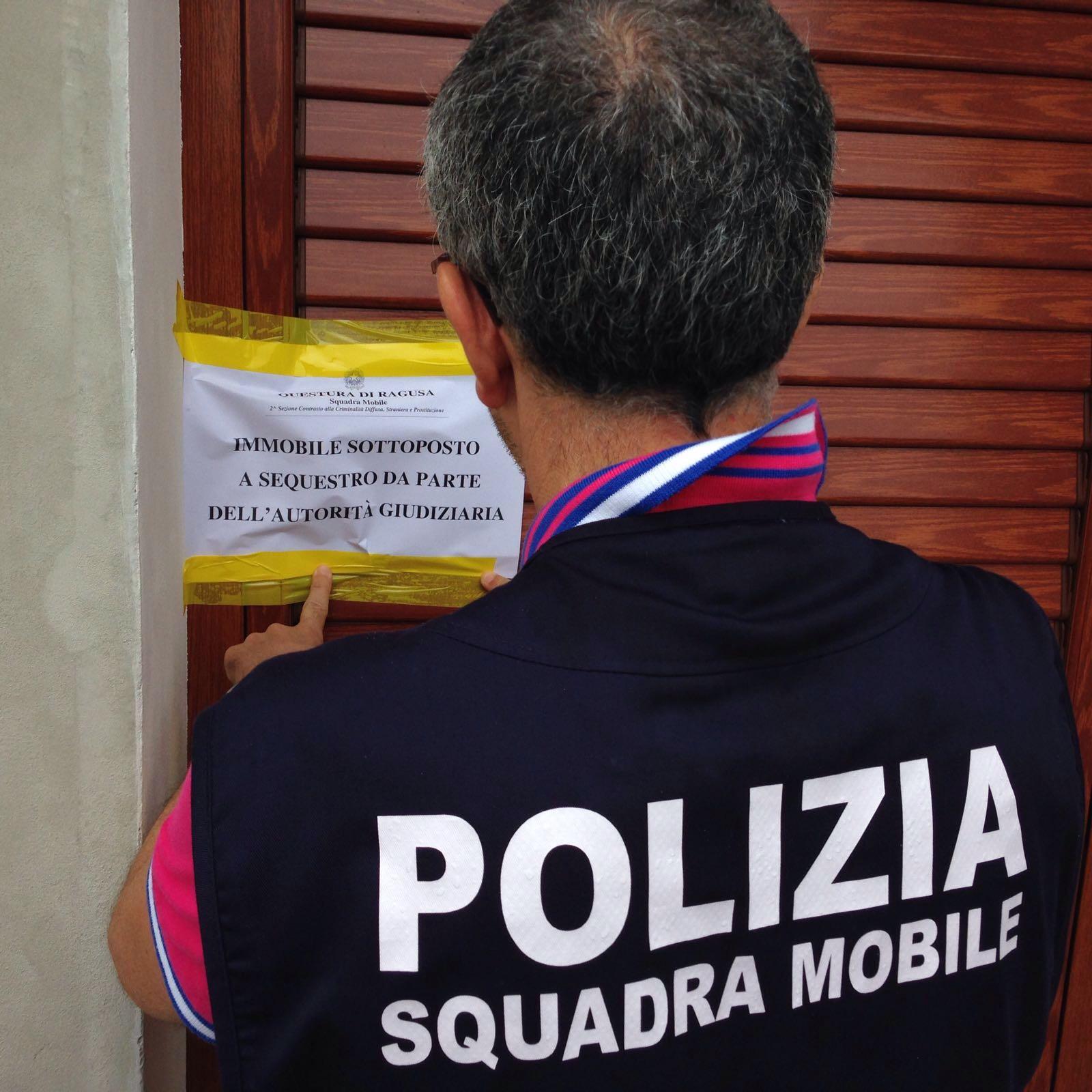 Pozzallo: proprietario pubblicizza casa a luci rosse, polizia gliela sequestra