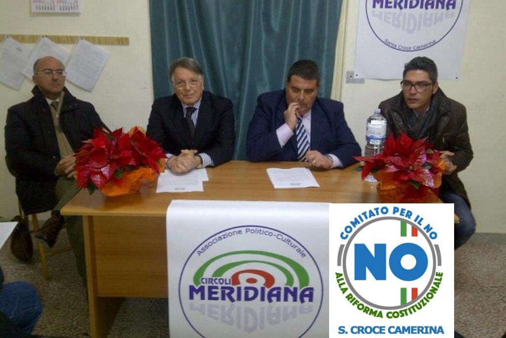 Riforma costituzionale, anche a Santa Croce nasce il comitato per il NO