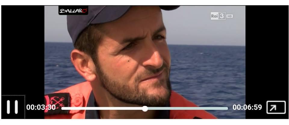 Giuseppe, partito da Santa Croce per salvare vite umane in mare IL VIDEO