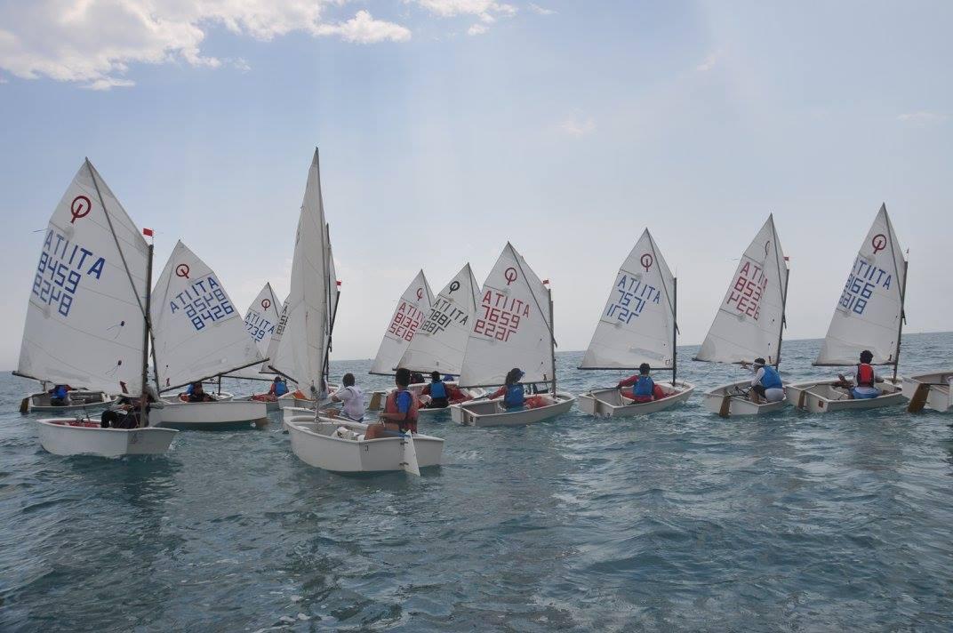 Vela, due giorni di grande sport a Caucana con la regata classe Optomist
