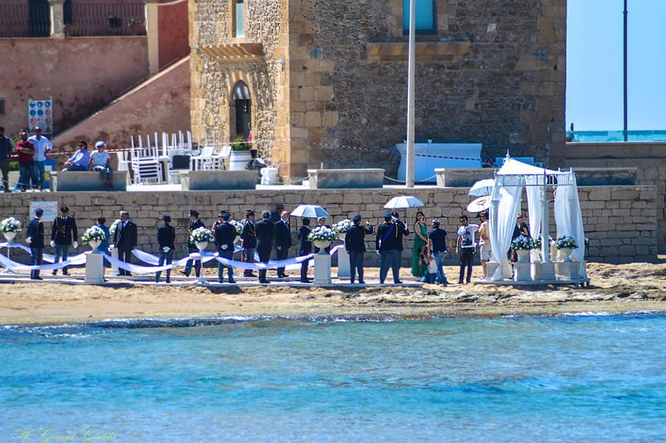 """Montalbano si sposa: il ciak più romantico sulla """"sua"""" spiaggia FOTO"""