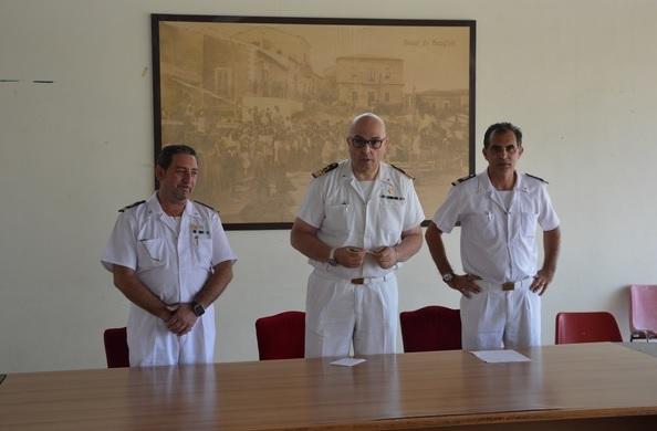 Salvatore Cappello è il neo comandante dell'Ufficio Marittimo di Scoglitti