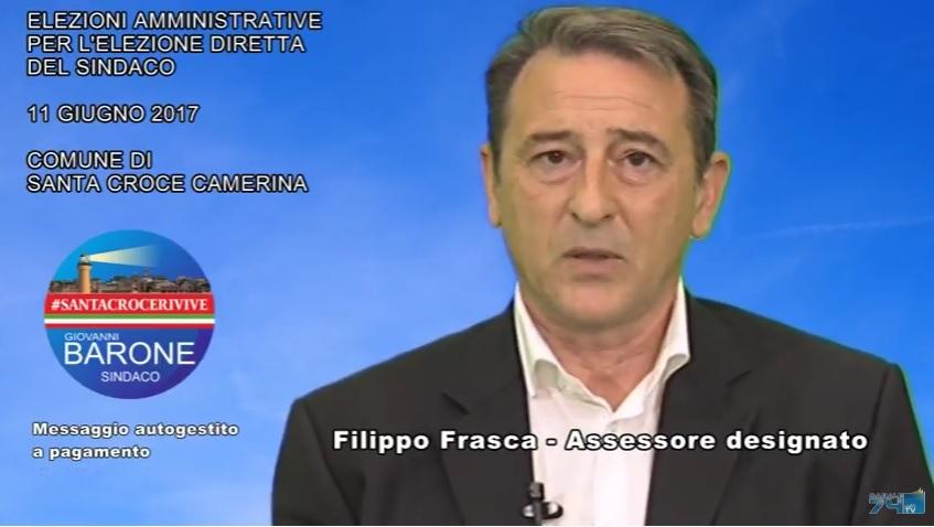 Messaggio autogestito a pagamento: Filippo Frasca per #SantaCroceRivive