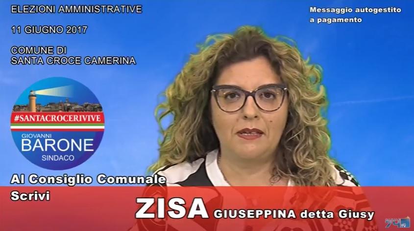Messaggio autogestito a pagamento: Giusy Zisa (#SantaCroceRivive)