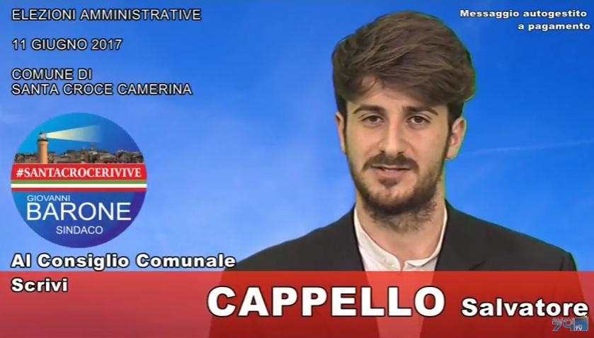 Messaggio autogestito a pagamento: Salvatore Cappello (#SantaCroceRivive)