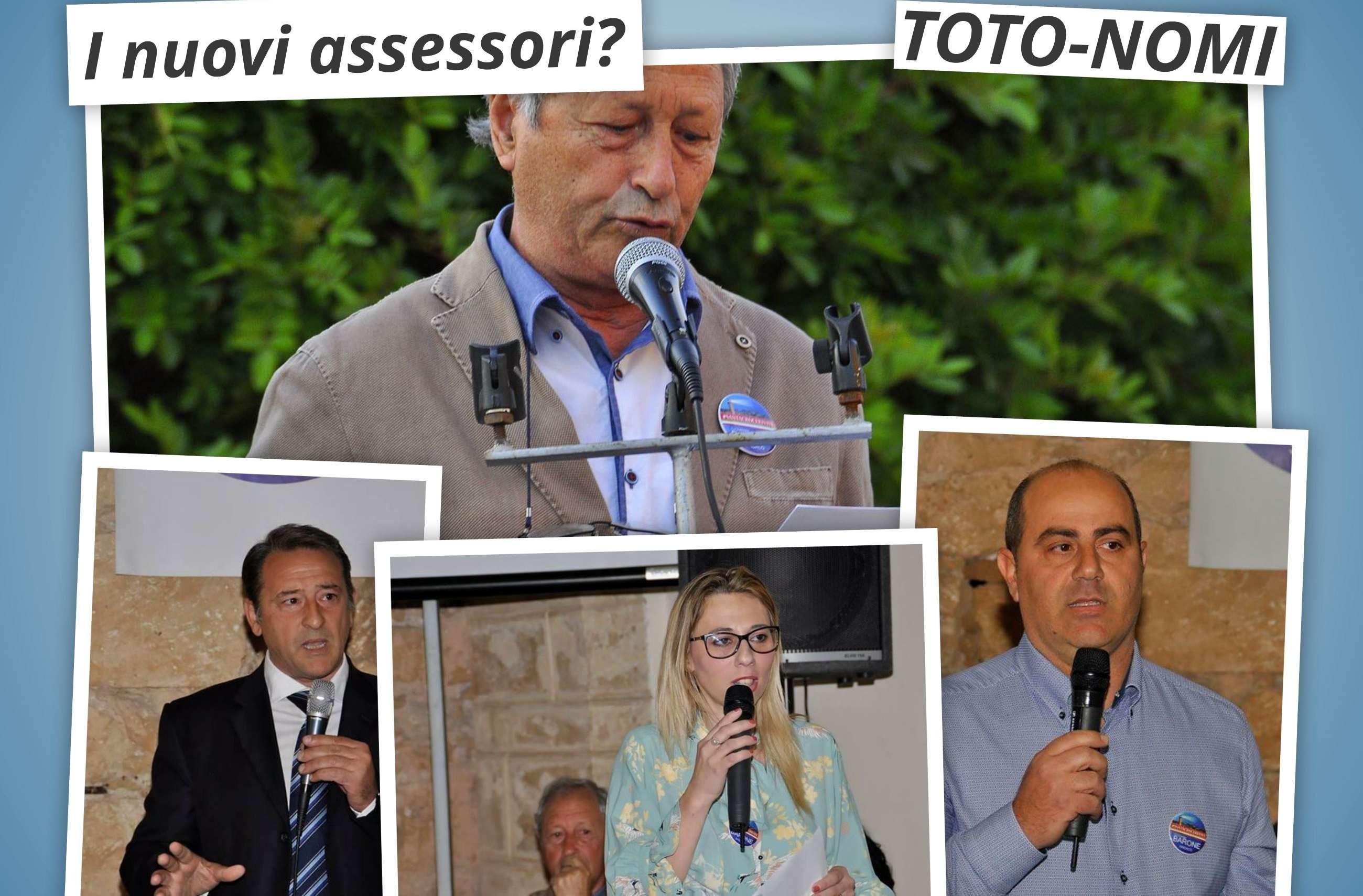 La prima Giunta Barone: certi Giavatto e Frasca. Ipotesi Santodonato-Dimartino