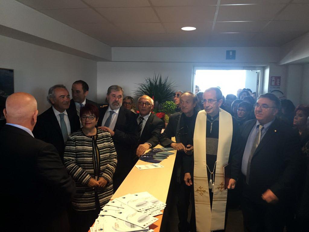 Ragusa – Inaugurata nuova sede dell'ANMIL: presenti anche gli onorevoli Ragusa e Dipasquale