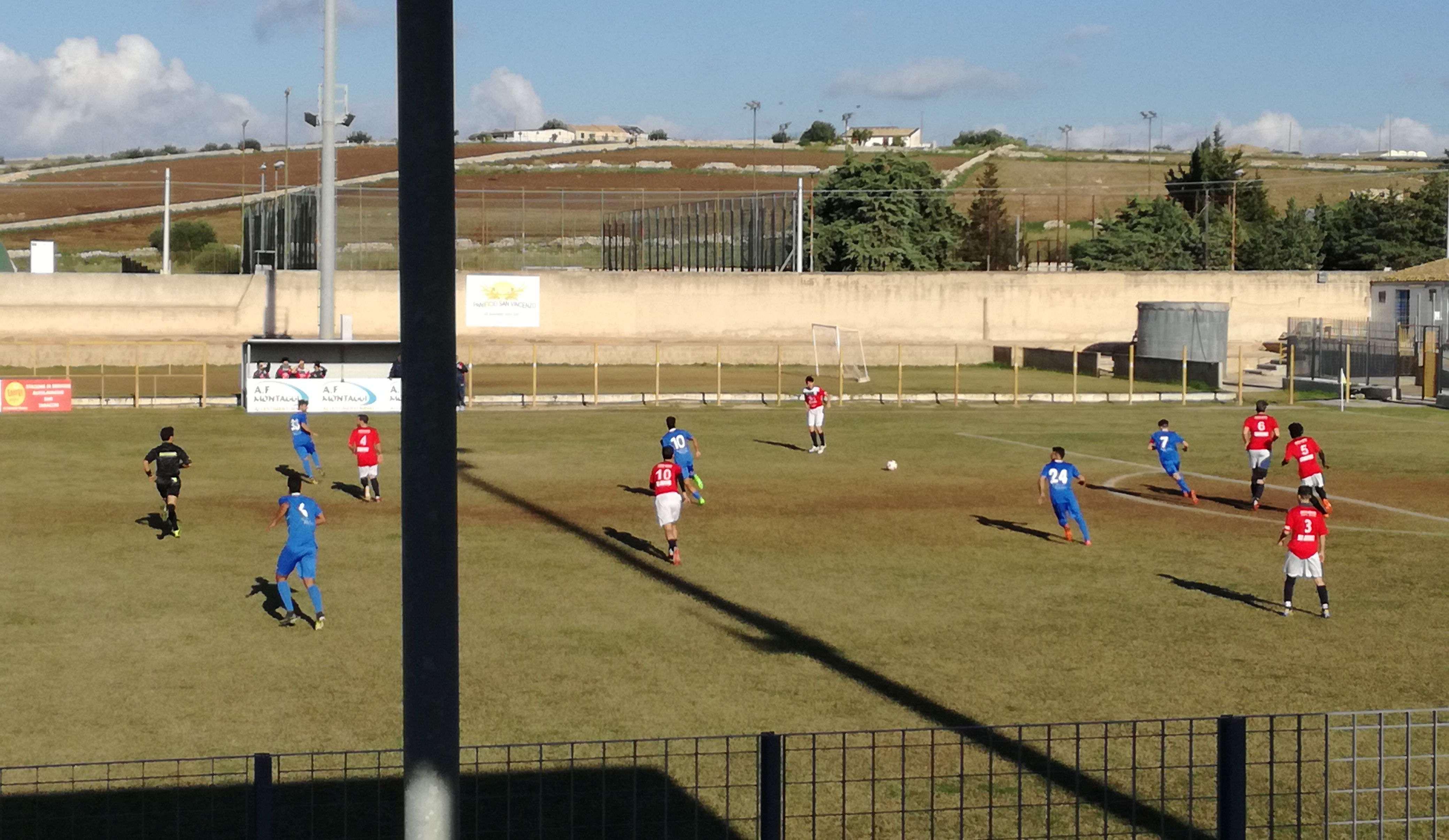Calcio, 2ª Categoria: Occhipinti e Vespertino, l'Atletico vince senza strafare