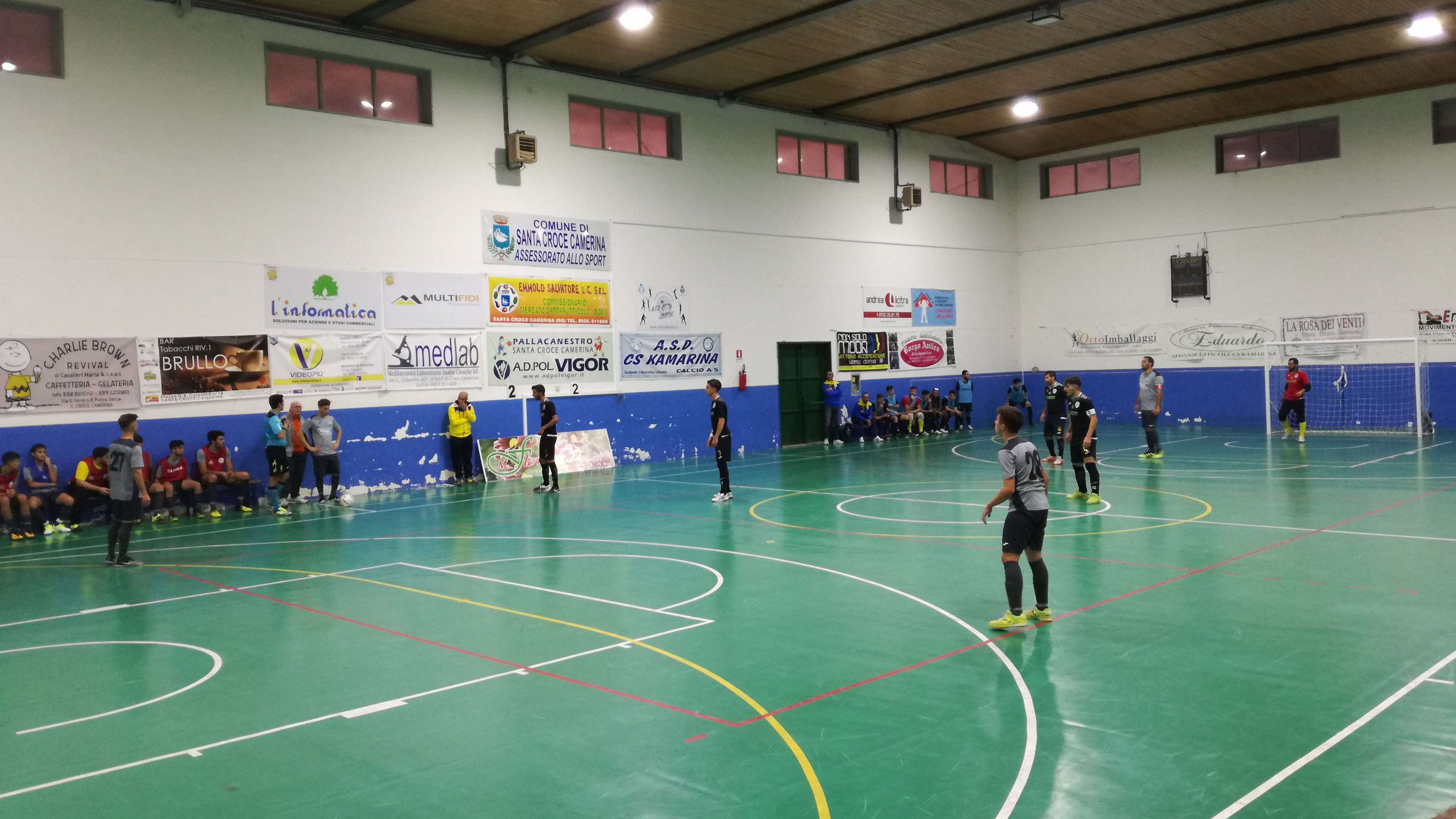 Calcio a 5, CS Kamarina-Arcobaleno Ispica 0-7. Highlights e interviste VIDEO