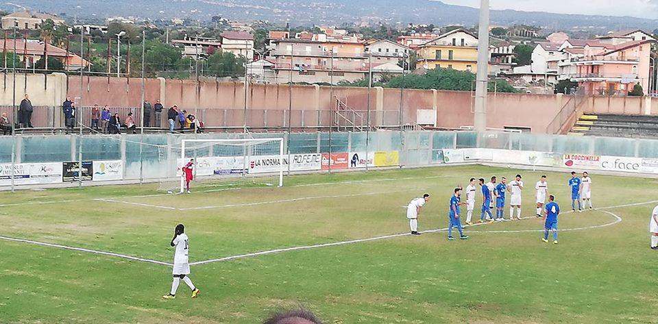 Calcio, Eccellenza: clamoroso tonfo del S.Croce, da 0-3 a 4-3 col Paternò