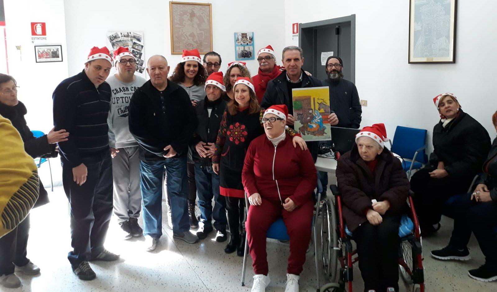Uno scambio d'auguri speciale al Centro Ricreativo Disabili di Santa Croce