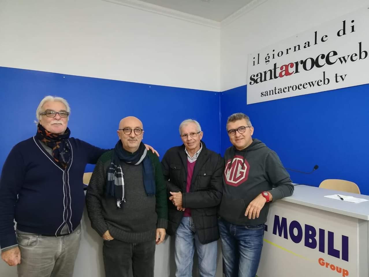 """Aquila, Giacchi e Rizzo: l'arte di Santa Croce brilla a """"Standing Ovation"""""""