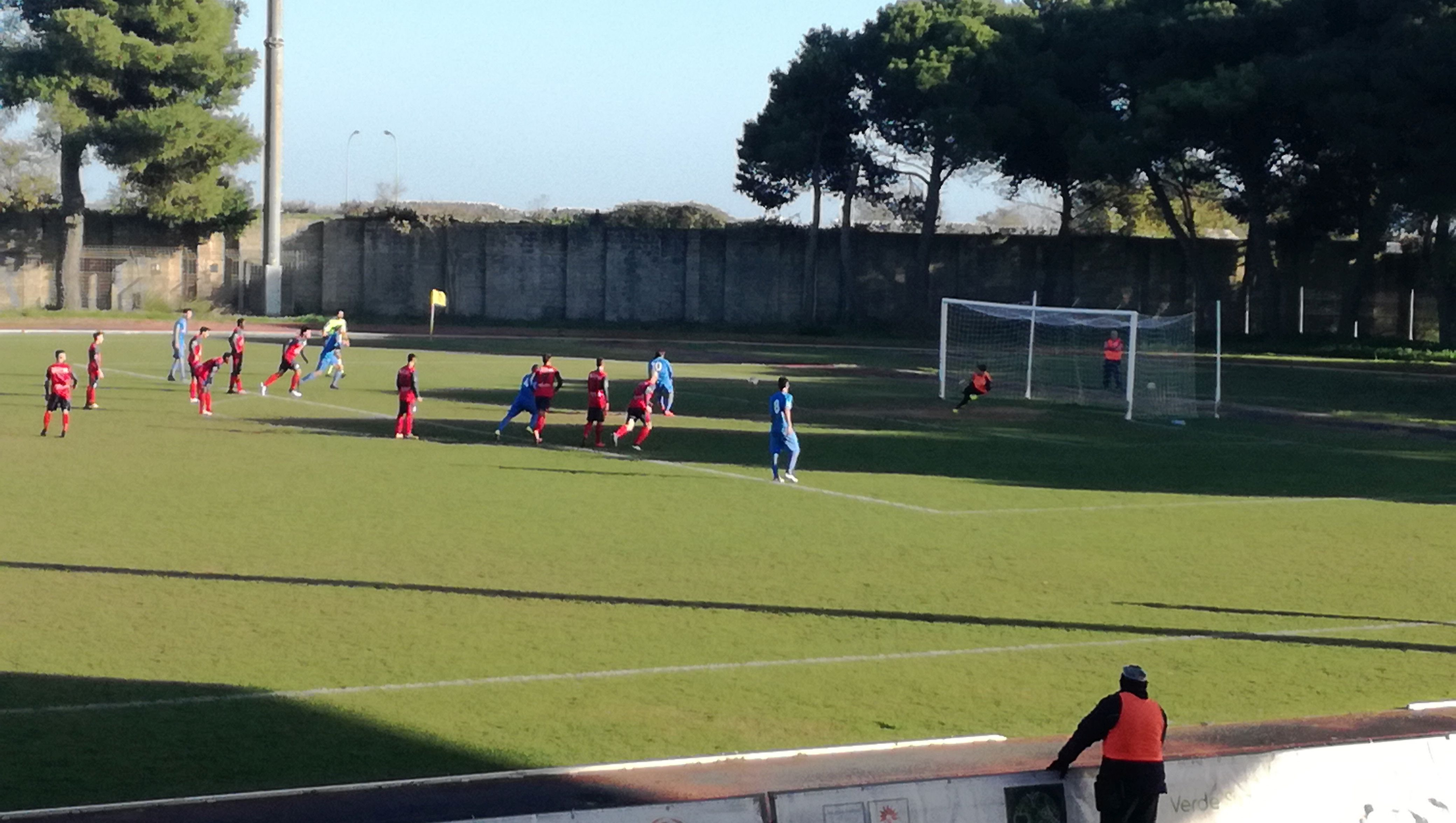 Calcio, Eccellenza: Leone illude il Santa Croce, il Marina rimonta e vince (3-1)