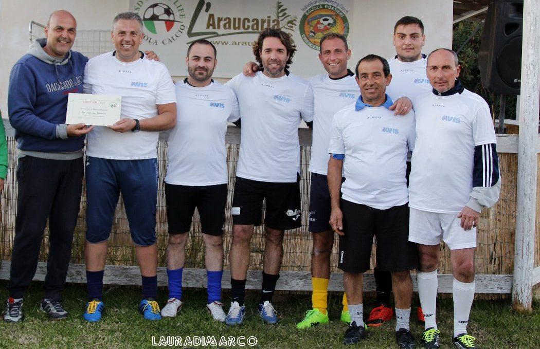 Calcio, un torneo amichevole con genitori, volontari e musicisti all'Araucaria