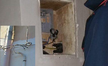 Ragusa Ibla – Si allaccia abusivamente alla rete elettrica: 50enne arrestato, danno da 1200 euro