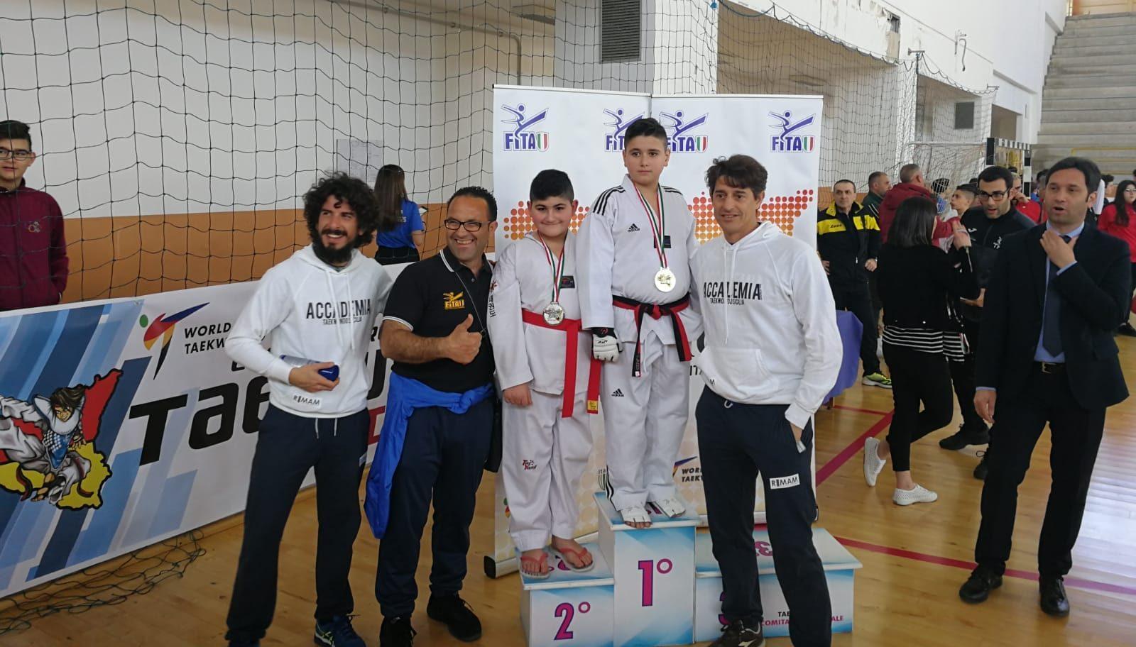 Collezione di medaglie: la Taekwondo Kamarina sbanca Bagheria