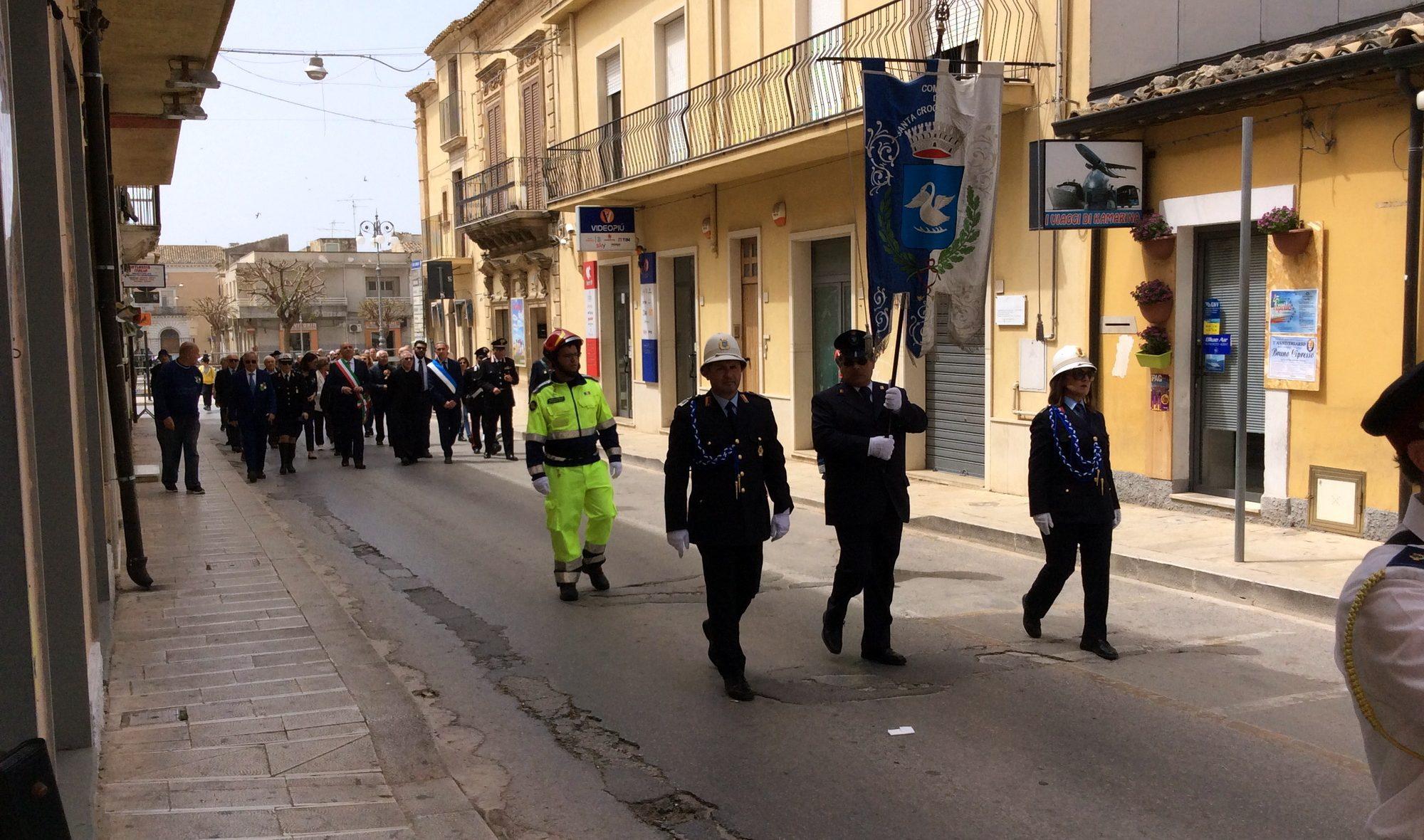 Le celebrazioni del 25 aprile a Santa Croce: guarda video e fotogallery