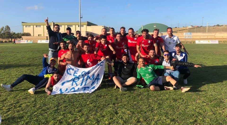 Calcio, l'impresa dell'Atletico: batte il Pachino e ottiene la promozione