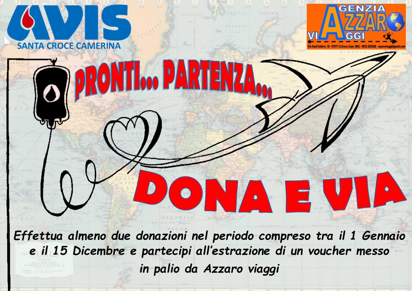 L'Avis vi invita a donare e vi spiega come fare: domenica 28 e martedì 30