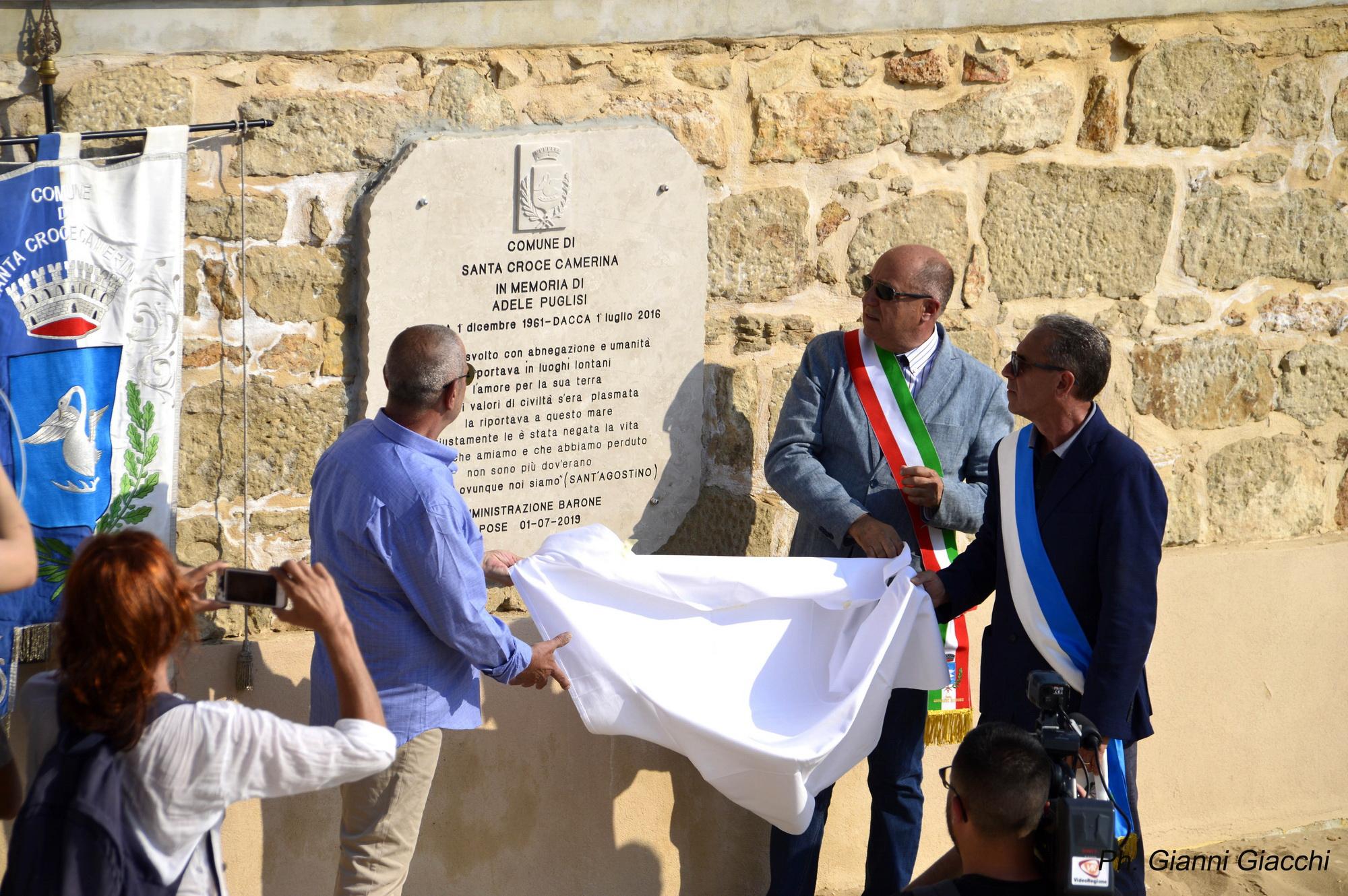 Una stele per Adele: Punta Secca la ricorda a tre anni dall'attentato