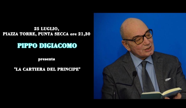 """""""La cartiera del principe"""": il libro di Pippo Digiacomo a Punta Secca"""