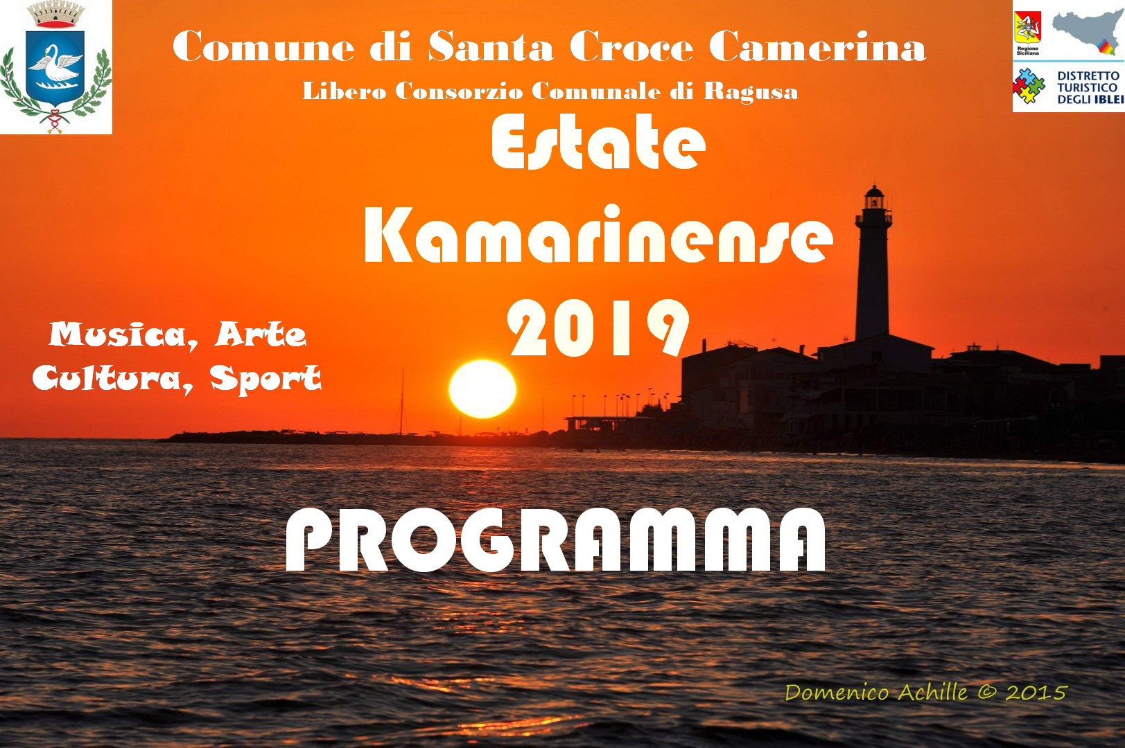 Il programma degli spettacoli: musica e teatro da Punta Secca a Casuzze