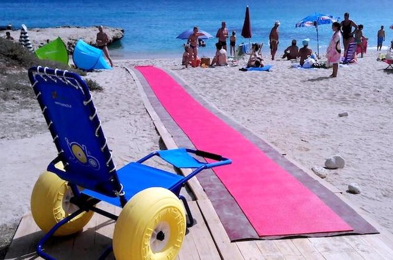 """Parte """"Mare senza frontiere"""": tra le spiagge accessibili c'è Casuzze"""