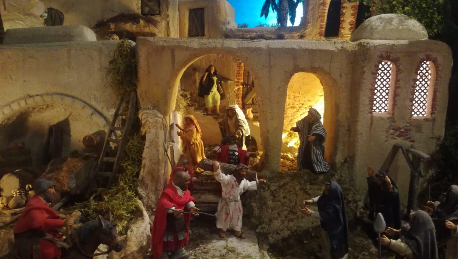 """Il presepe di Pasqua """"al Giardino di Bianca"""": la storia al tempo del Covid"""
