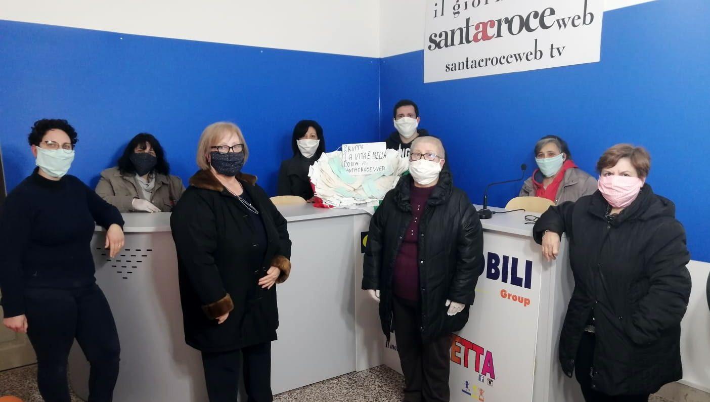 Dotazione di 100 mascherine a Santa Croce Web: contattateci per averle