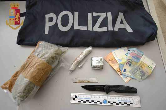 Ragusa – Spaccio di stupefacenti: due arresti fra il capoluogo e Vittoria