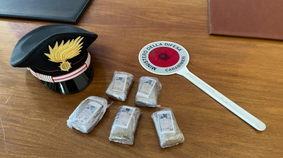 Arrestato a Santa Croce corriere della droga: è un gambiano