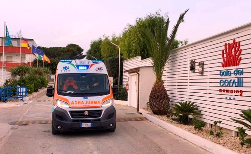 Punta Braccetto, s'imbottisce di psicofarmaci: salvata dai sanitari