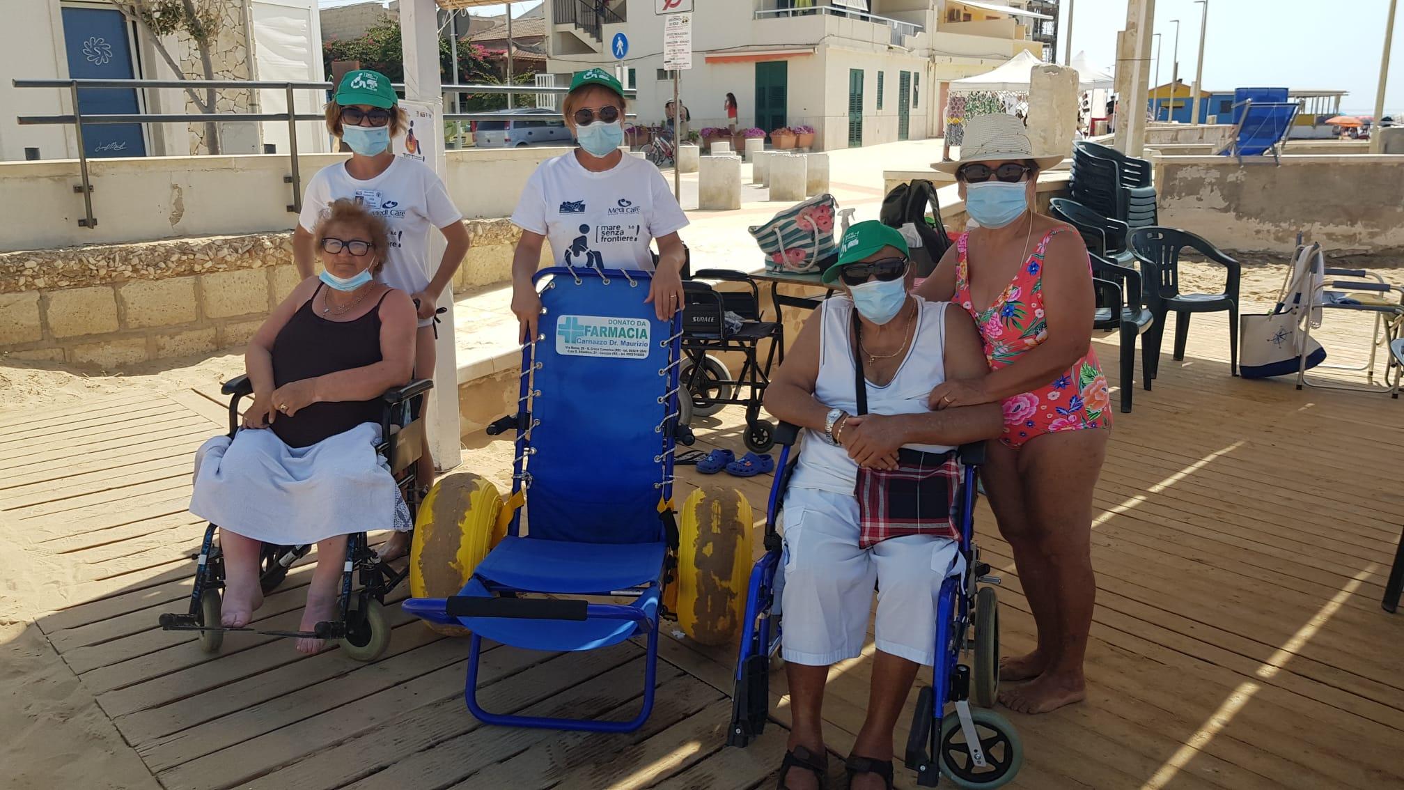 Mare senza frontiere: il progetto regala sorrisi e abbatte le distanze