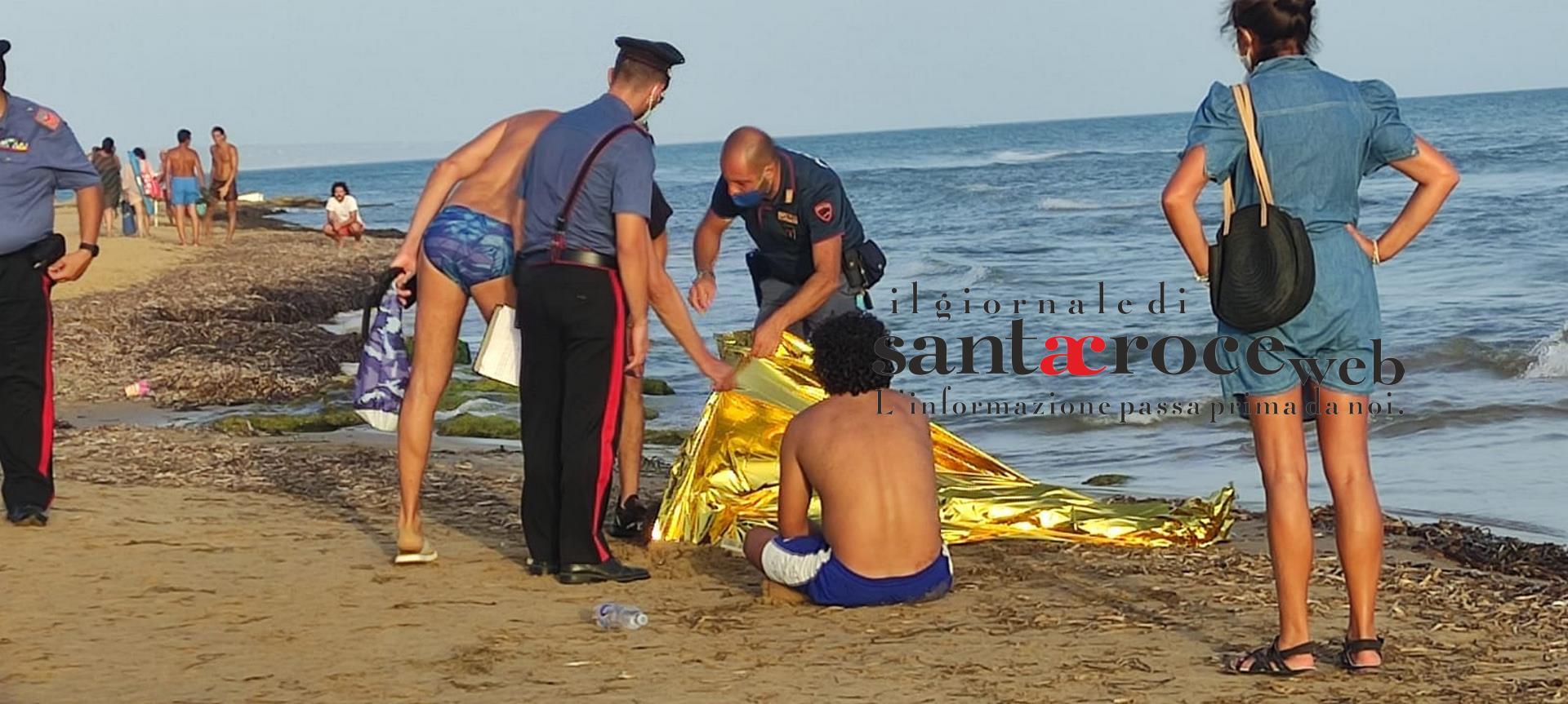 Corpo riverso nel mare di Punta Secca: giovane muore annegato