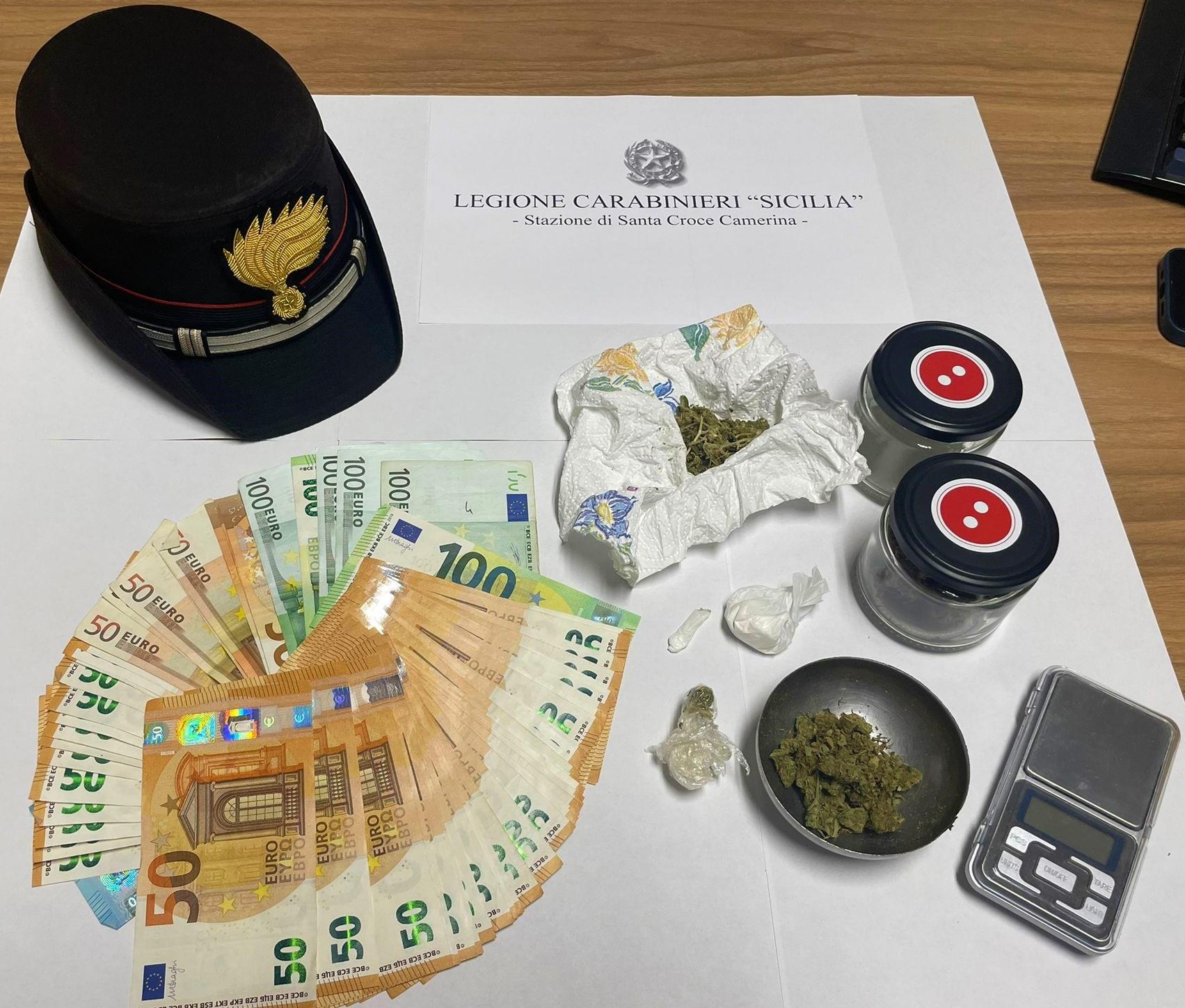 Spaccio di droga sul litorale di S.Croce, arrestato giovane pusher