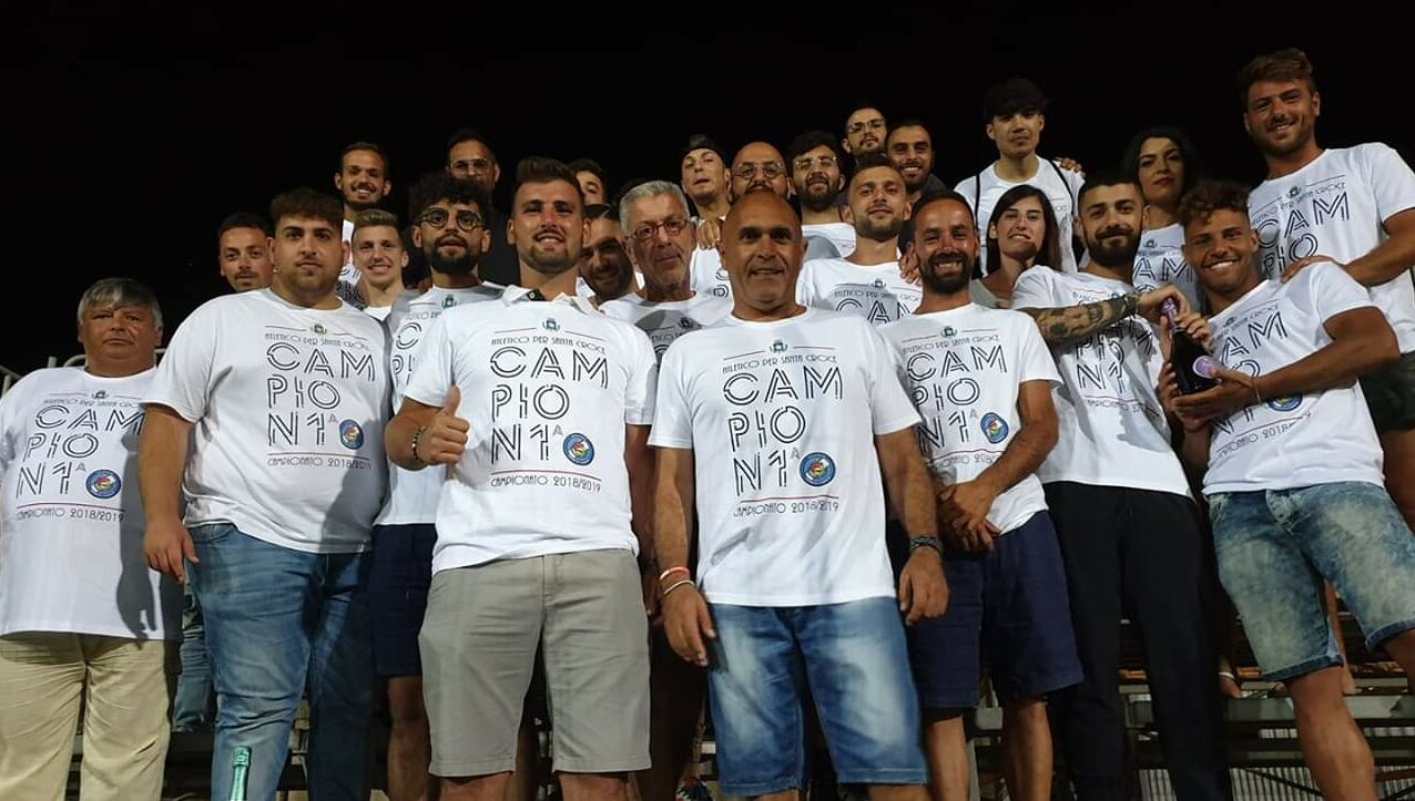 Calcio: comincia la preparazione del nuovo Atletico Santa Croce