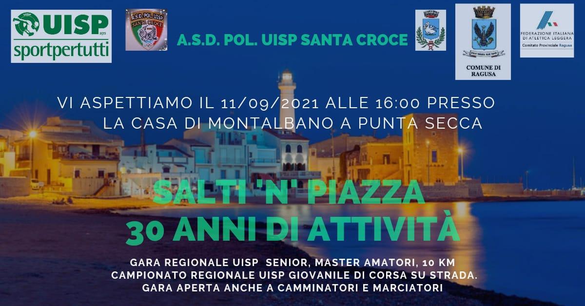 "Uisp, trent'anni di attività: festa a Punta Secca con ""Salti 'n' piazza"""